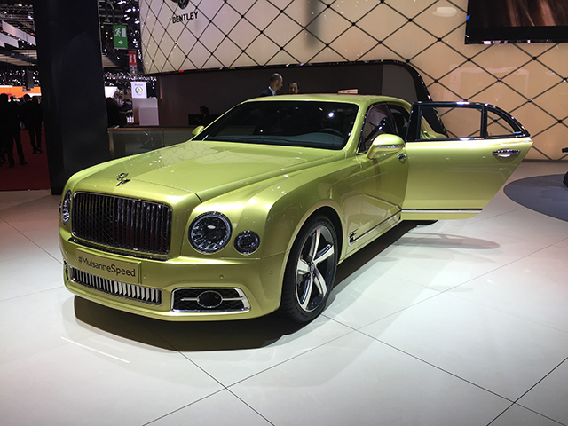 New Bentley Mulsane Speed