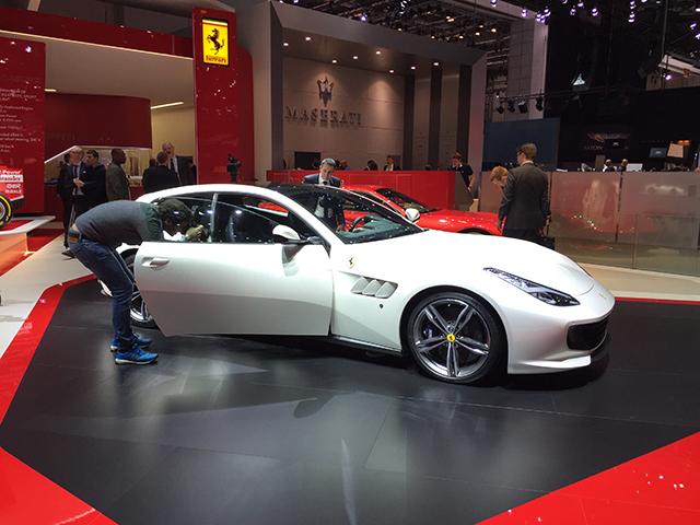 New Ferrari GTC Lusso