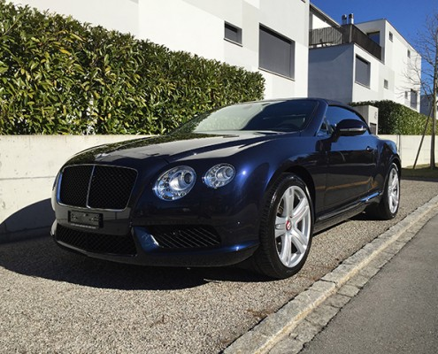 Bentley Continental GTC V8 Bild 1