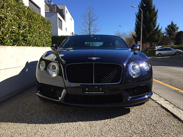 Bentley Continental GTC V8 Bild 2
