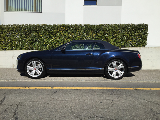 Bentley Continental GTC V8 Bild 3
