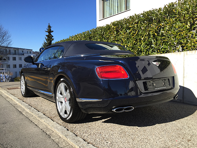 Bentley Continental GTC V8 Bild 4