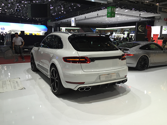 Techart Porsche Macan Turbo
