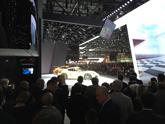 Porsche Press Conference
