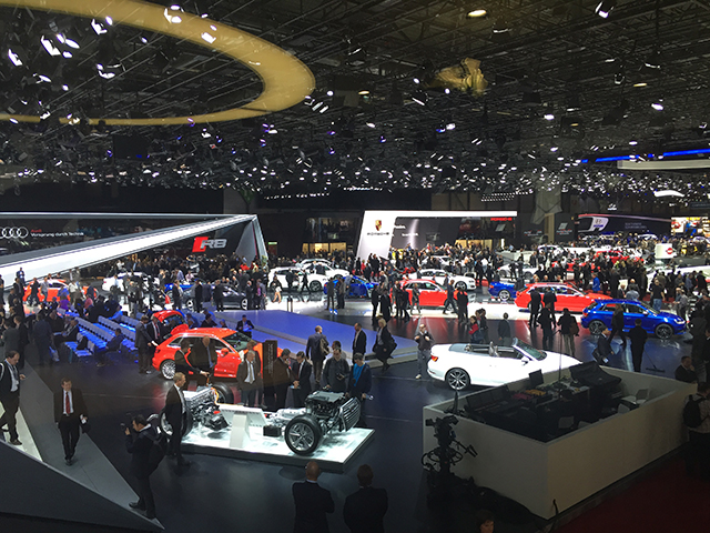 Overview Autosalon Genf 2015