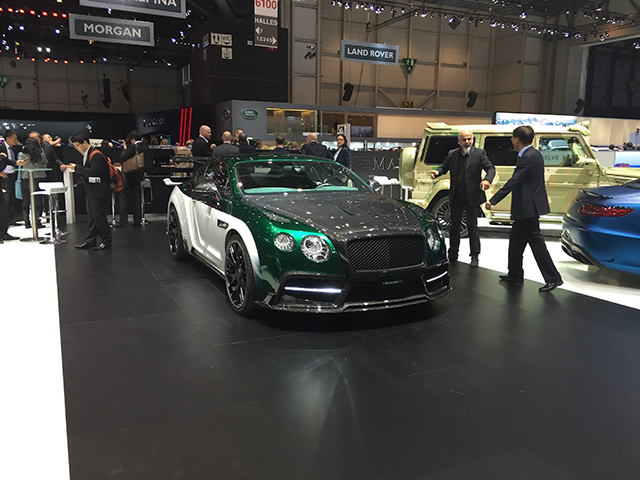 Mansory Bentley Continental GT3R