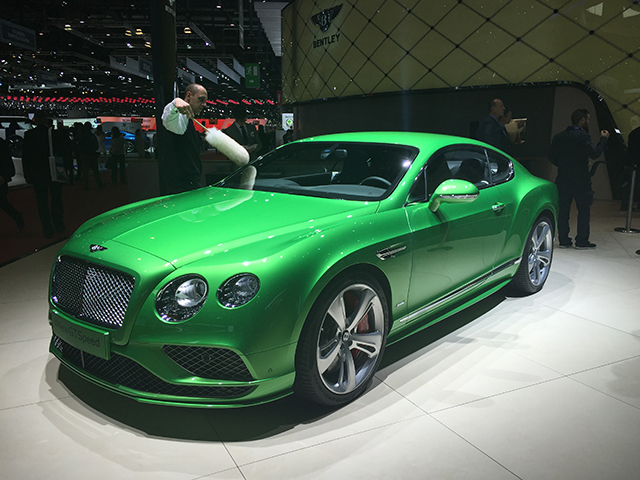 Bentley New Continental GT W12