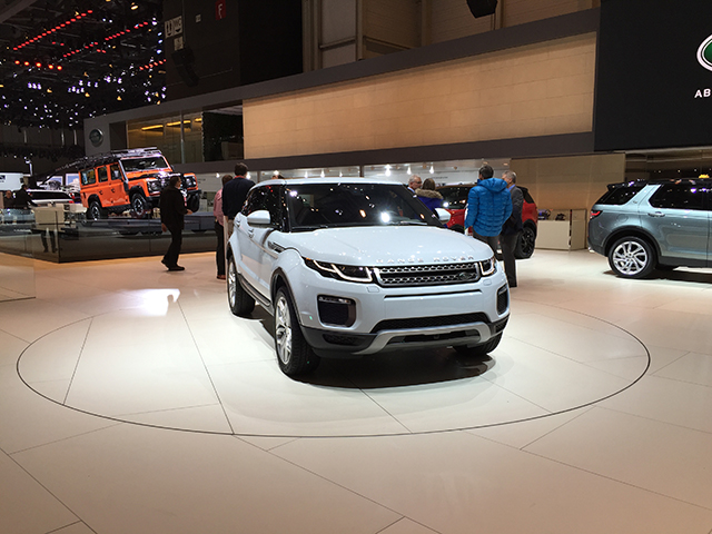 New Land Rover Evoque