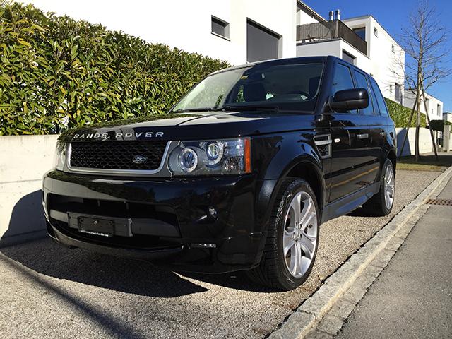 Range Rover Sport Silverstone Bild 1